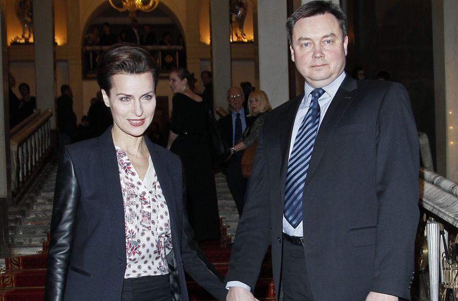 Danuta Stenka i Janusz Grzelak