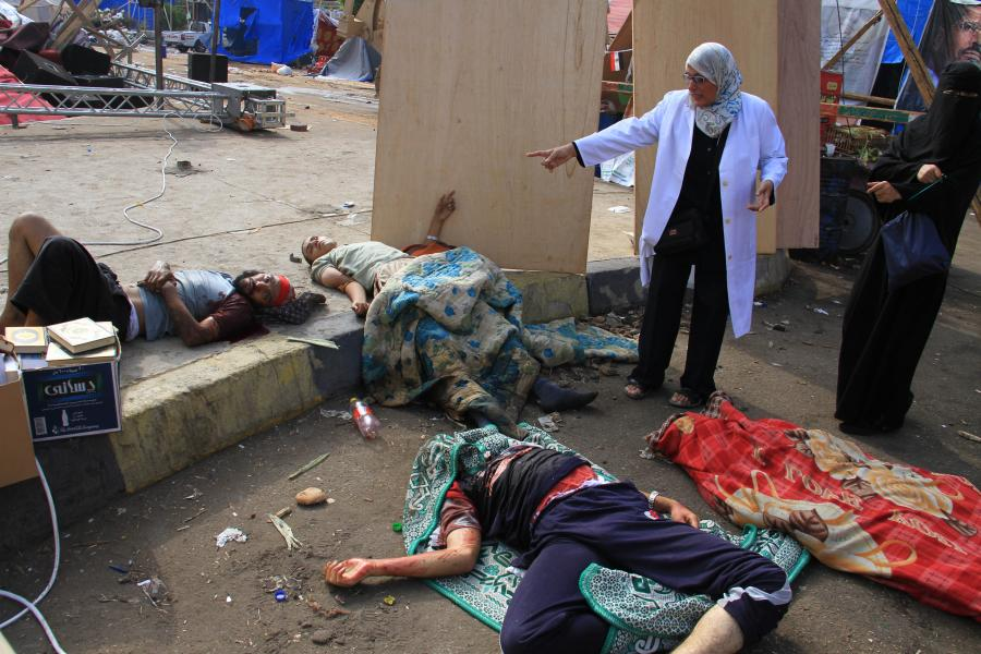 Coraz więcej ofiar w Egipcie