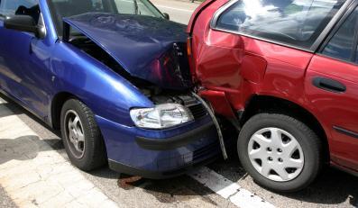 Zderzenie aut