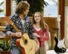 "Miley Cyrus z ojcem w serialu ""Hannah Montana"""