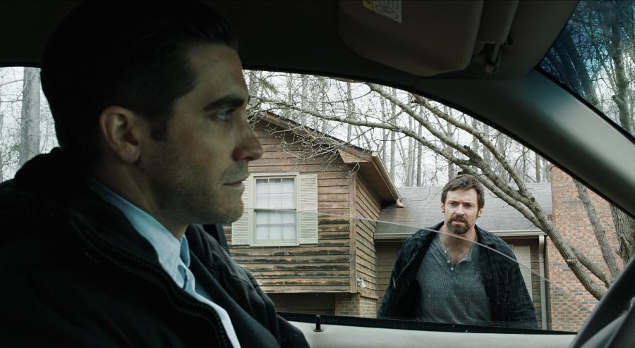 Jake Gyllenhaal i Hugh Jackman w filmie \