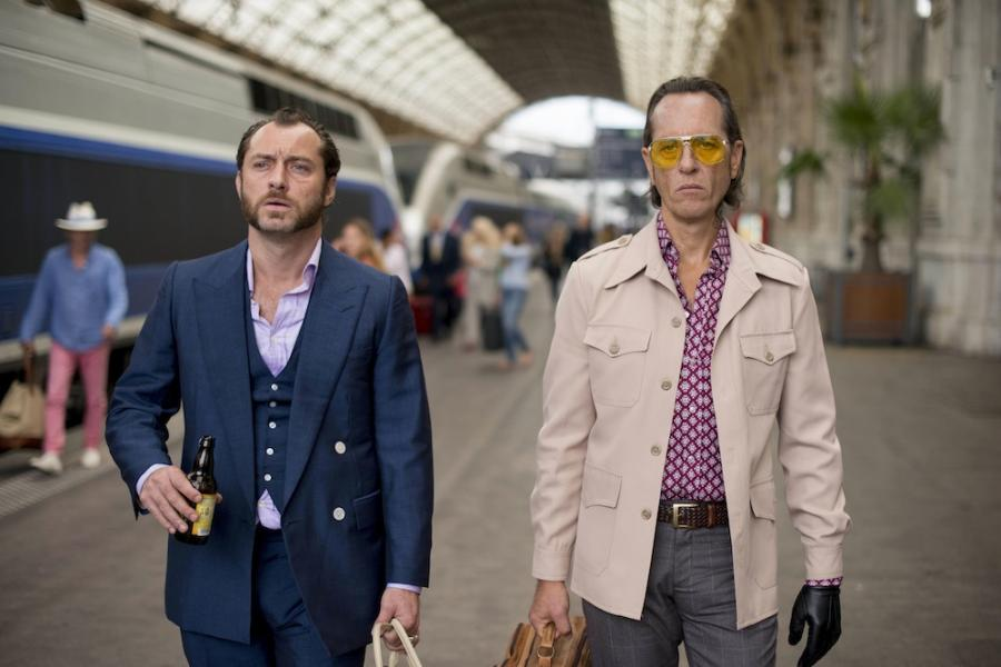 Jude Law i Richard E. Grant w filmie \