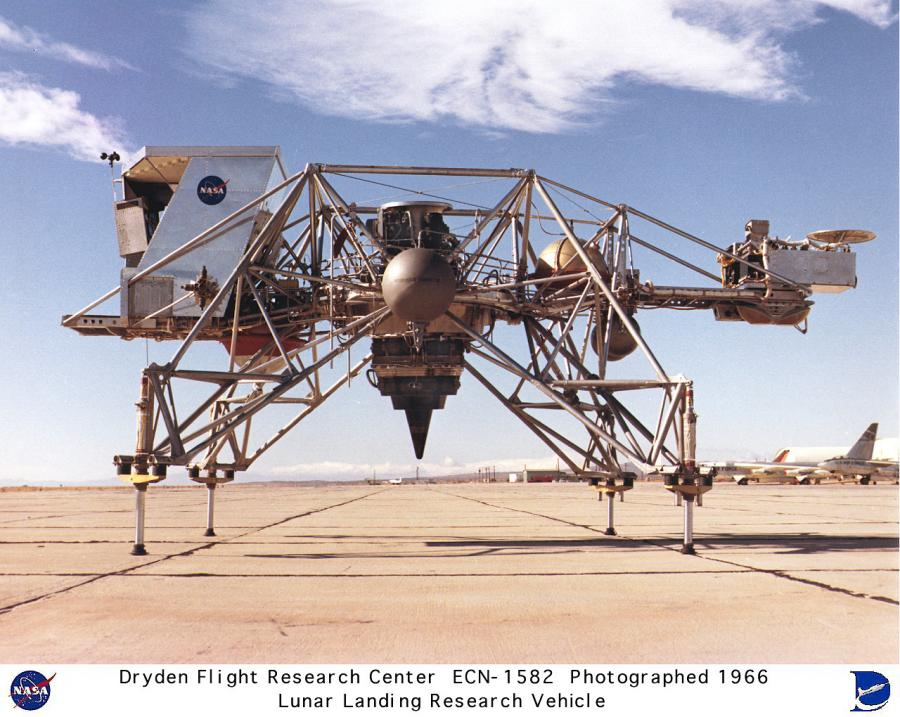 The Lunar Landing Research Vehicle