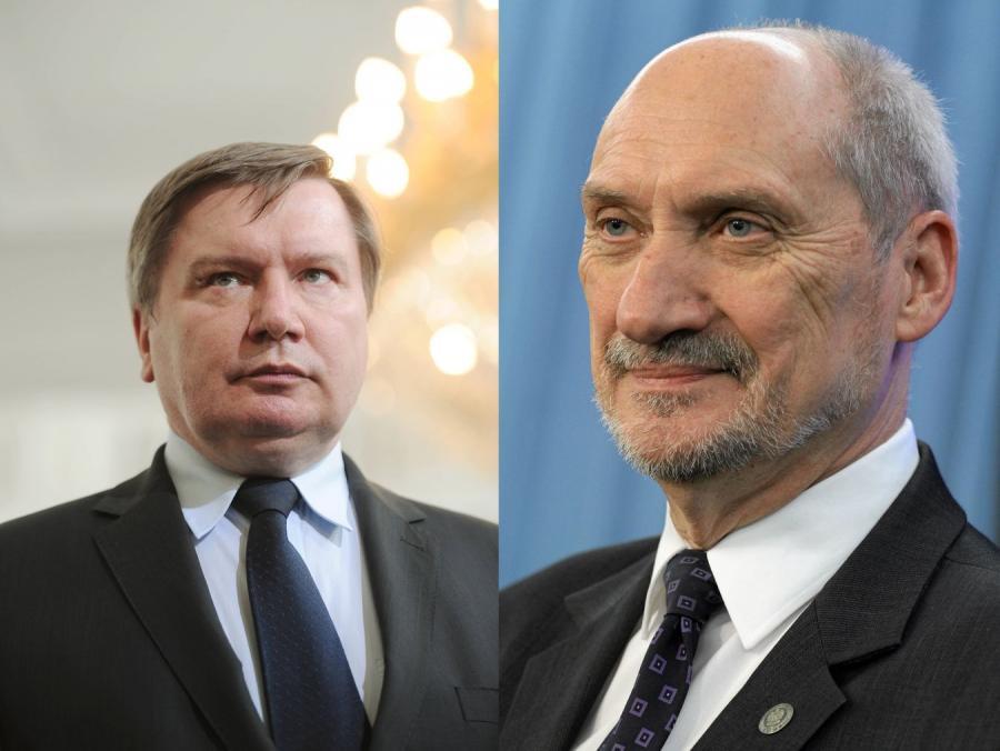 Jerzy Miller i Antoni Macierewicz
