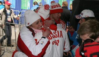Czy to sympatia Justyny Kowalczyk?