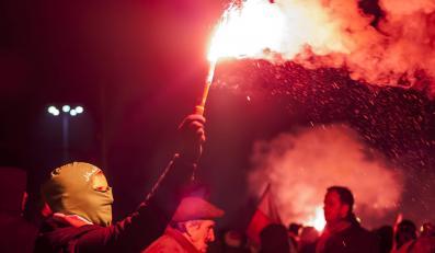 Marsz Niepodległości 11 listopada 2013 roku w Warszawie