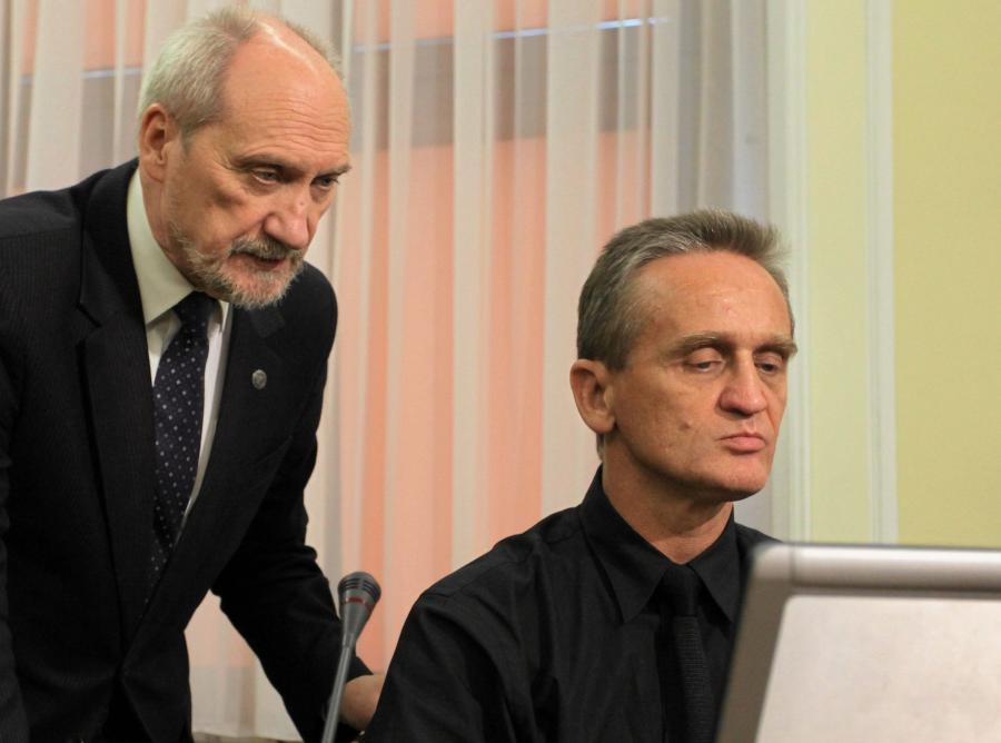 Antoni Macierewicz i prof. Chris Cieszewski