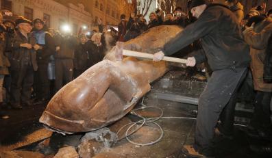 Pomnik Lenina w Kijowie
