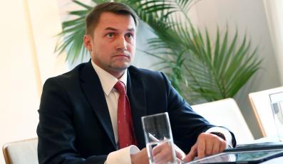 Burmistrz Ursynowa Piotr Guział