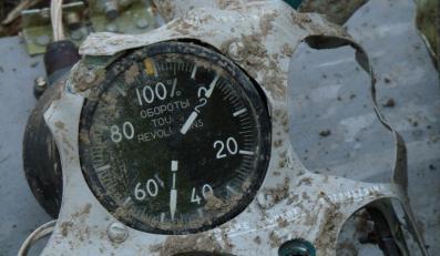 Wskaźnik obrotów silnika numer 2