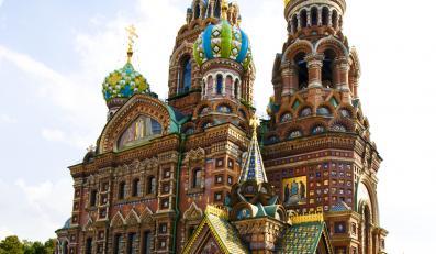 Sankt-Petersburg, Kościół Zbawiciela na Krwi, Rosja