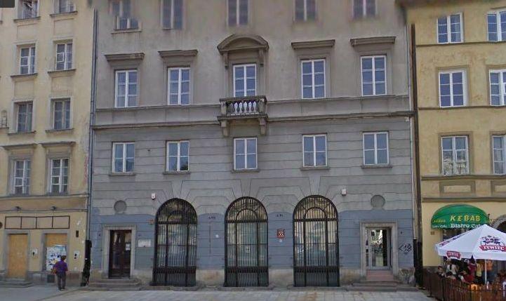 Budynek w którym mieści się klub go-go