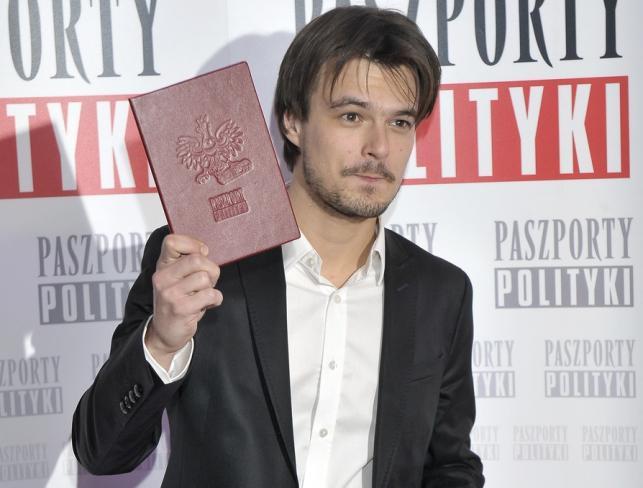 """Dawid Ogrodnik z """"Paszportem Polityki"""""""