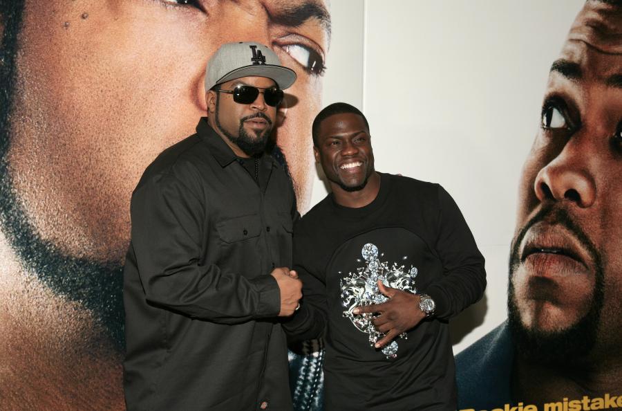 Ice Cube i Kevin Hart na premierze \