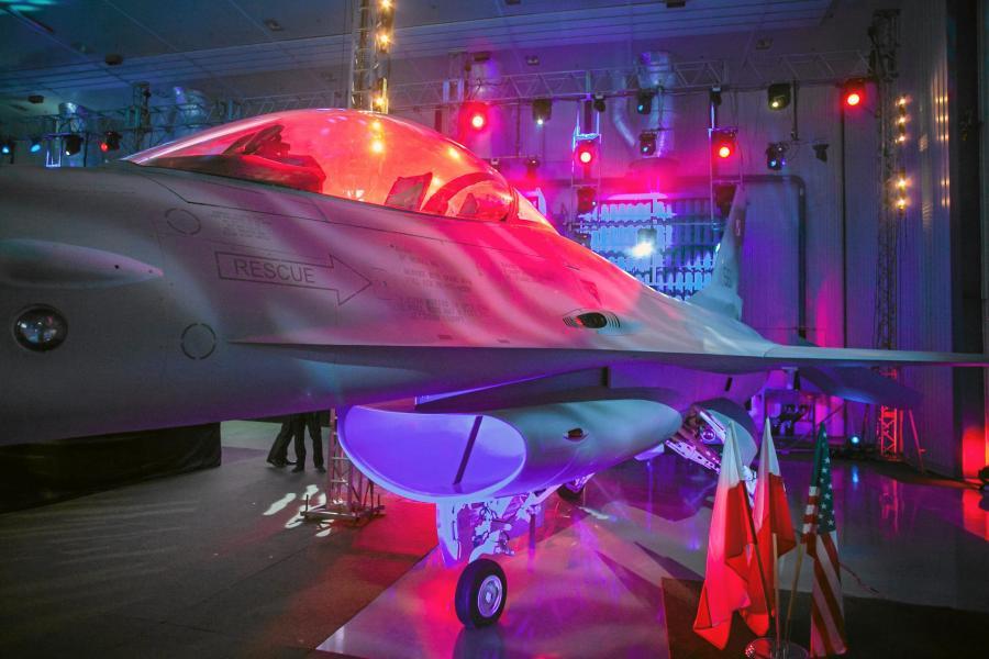 Otwarcie krajowego centrum serwisowego F-16