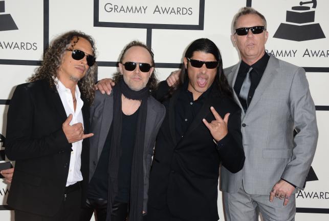 Metallica na Grammy 2014
