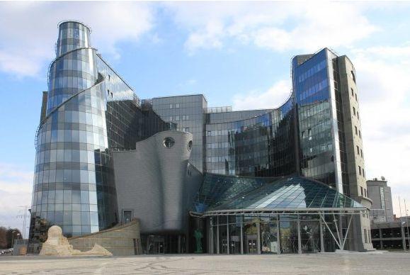 Siedziba TVP przy ul Woronicza 17