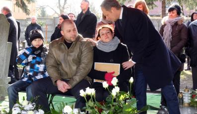 Donald Tusk z rodzicami Julii Bonk