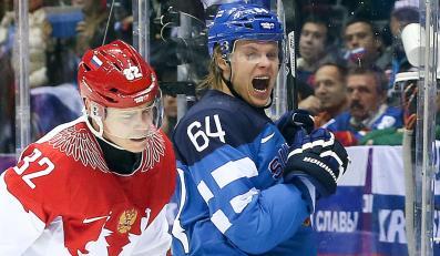 Mecz Rosja - Finlandia