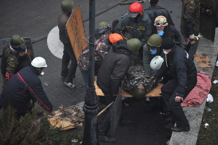 Wielu rannych podczas walk w Kijowie