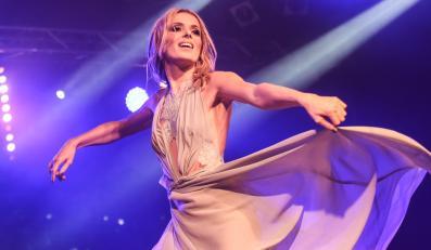 Halina Mlynkova podczas koncertu w Stodole