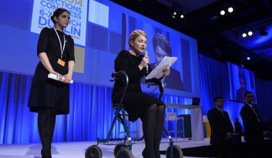 Wśród gości kongresu Europejskiej Partii Ludowej pojawiła się Julia Tymoszenko.