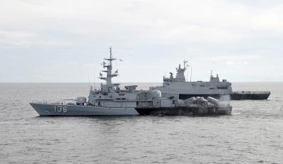 Malezyjska marynarka prowadzi akcję poszukiwawczą