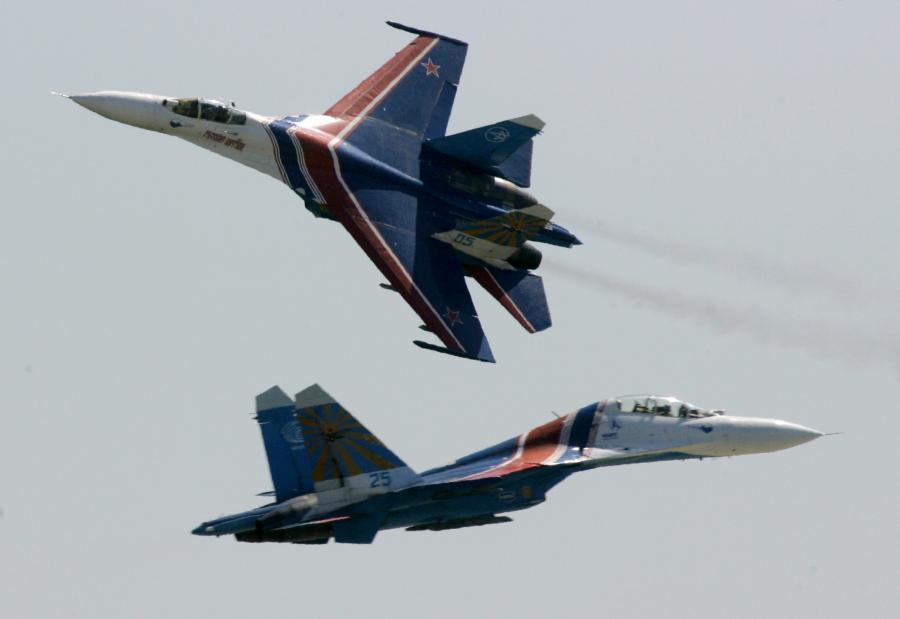Rosyjskie myśliwce Su-27
