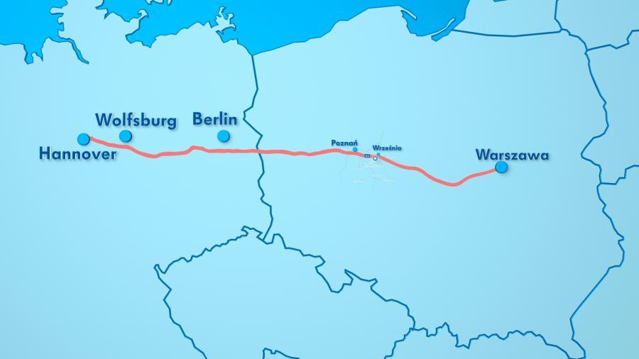 Połączenie polskich fabryk VW z niemieckimi