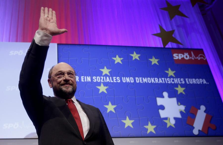 Przewodniczący PE Martin Schulz