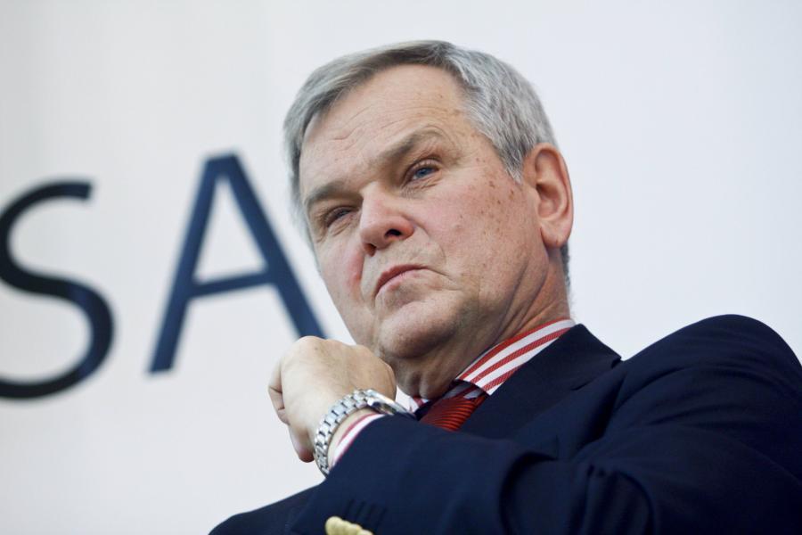 Ambasador Rosji w Polsce Aleksander Aleksiejew