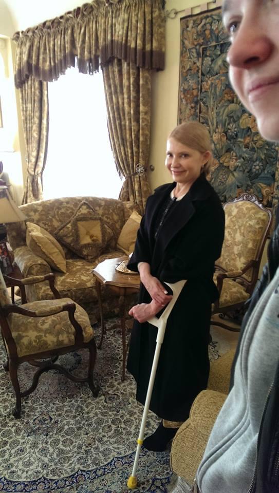 Julia Tymoszenko dom posiadłość nieruchomość (źródło: facebook.com/bezparkaniv)