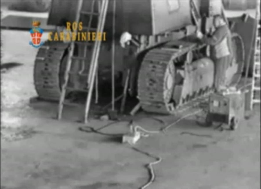 Budowany czołg
