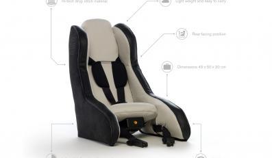 Nadmuchiwany fotelik Volvo