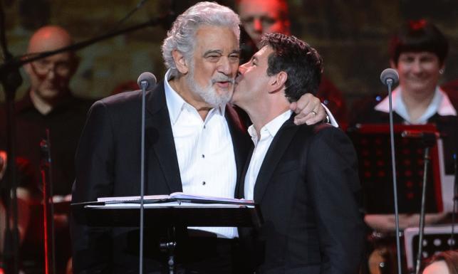 Placido Domingo zaśpiewał z synem dla Jana Pawła II [ZDJECIA]