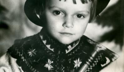 Mała Małgosia Ostrowska (foto z archiwum artystki)