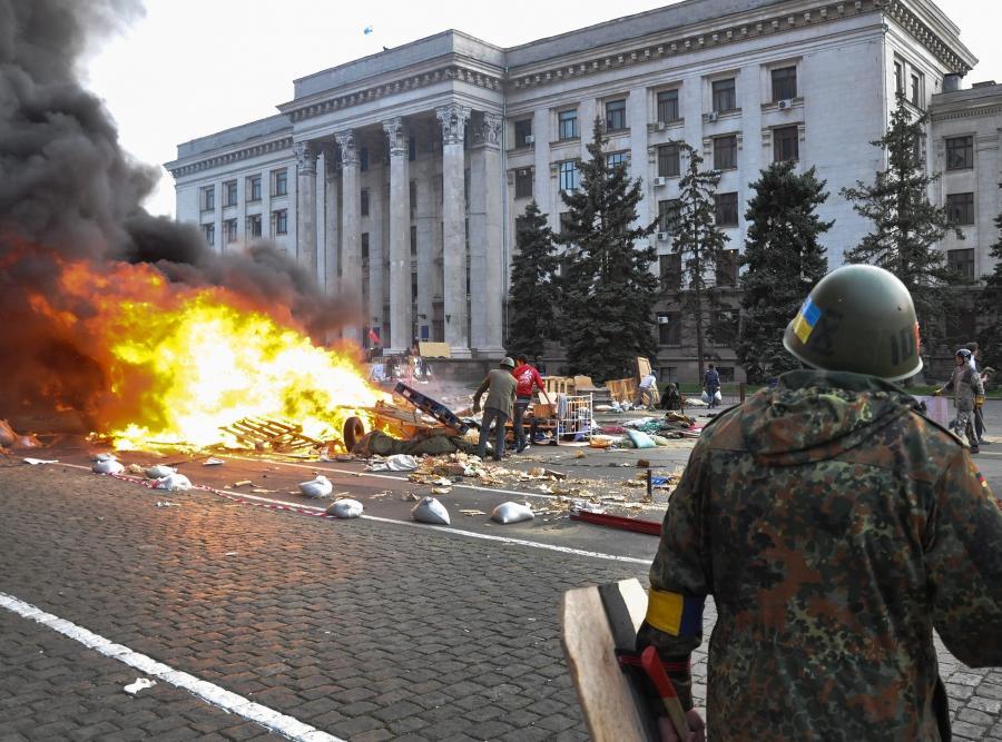 Odessa, Ukraina: walki uliczne i pożary