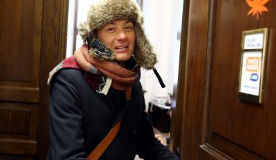 Robert Biedroń w Sejmie