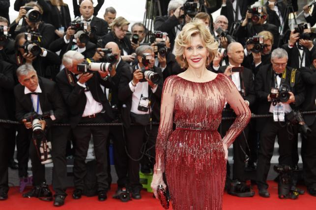 Jane Fonda na 67. Międzynarodowym Festiwalu Filmowym w Cannes
