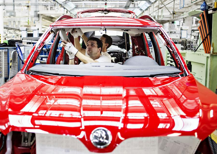 W fabryce Skody w Kvasinach zatrudnionych jest około 4500 osób