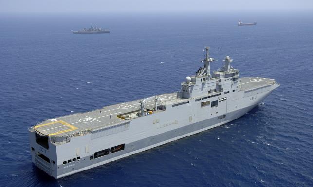 Mistral - najpotężniejszy okręt od czasów ZSRR. Nowe nabytki rosyjskiej marynarki