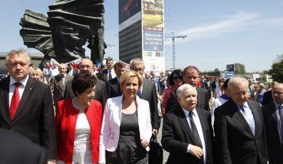 Prezes PiS Jarosław Kaczyński na Śląsku
