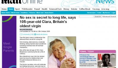 105-letnia Brytyjka: Długo żyję, bo nie uprawiałam seksu