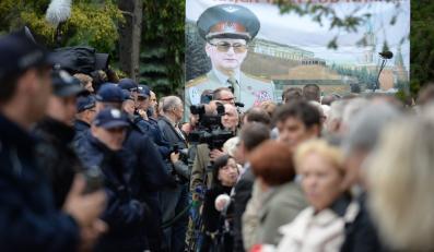 Protesty na pogrzebie gen. Jaruzelskiego