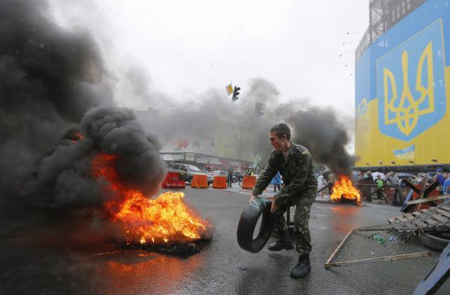 Majdan w ogniu