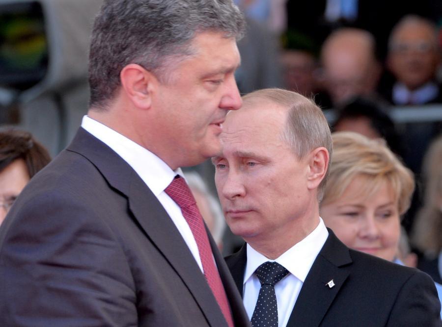 Petro Poroszenko i Władimir Putin