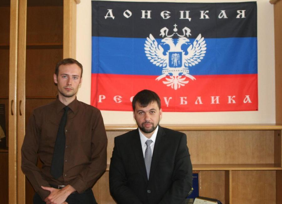 Bartosz Bekier i Denys Puszylin