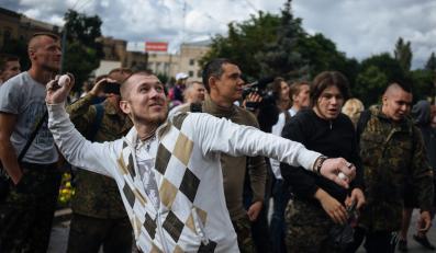 Atak na rosyjską ambasadę w Kijowie