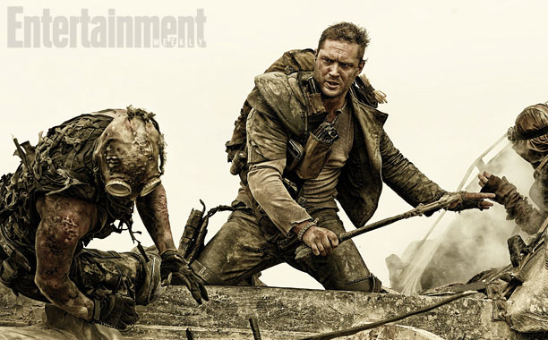 Tom Hardy jako Mad Max
