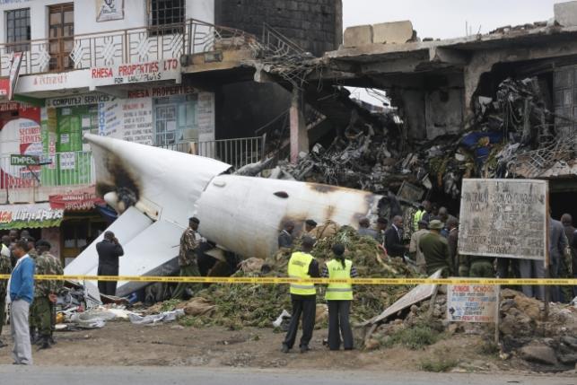 Katastrofa samolotu w Nairobi